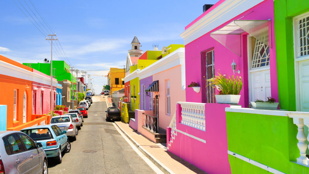Bo Kaap. Cape Town, South Africa