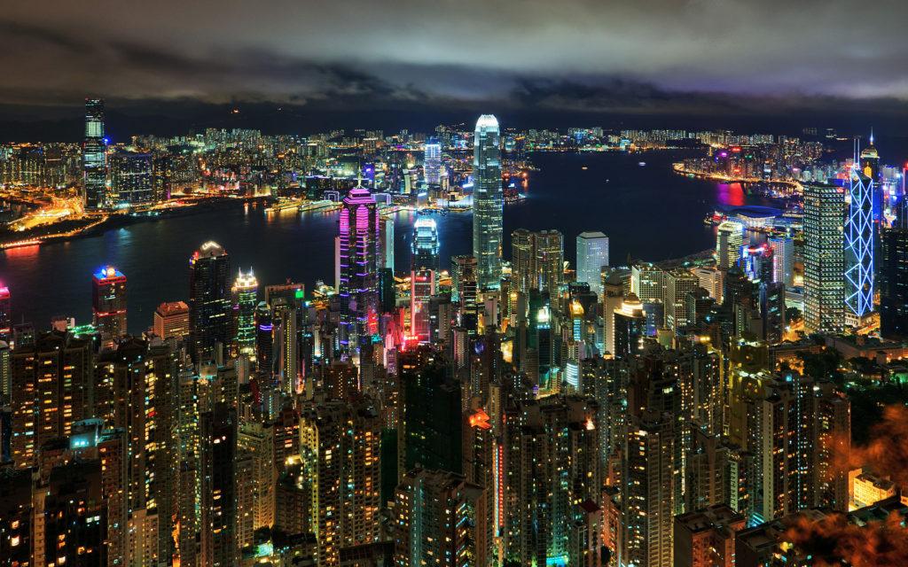 Victoria Peak. Kong Kong, China